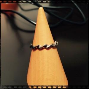 手作り指輪-鋳造後