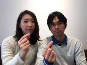 2016.03.19のお客様-結婚指輪手作り.com名古屋工房