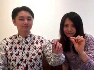 結婚指輪手作り 名古屋 2016.06.04-2