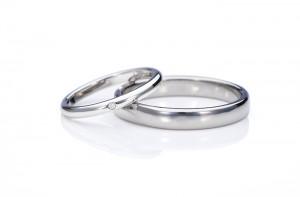 愛知-チタン・Pt手作り指輪