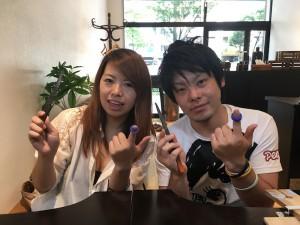 V字 結婚指輪手作り.com