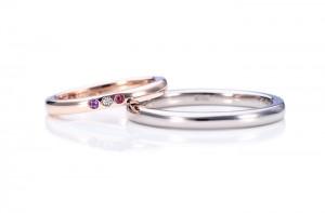 結婚指輪手作り.com東京店で手作りされたリング