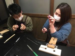 京都の手作り結婚指輪工房