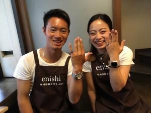 手作り 結婚指輪in京都